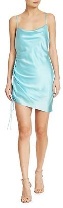 Cinq à Sept Astrid Silk Side-Shirred Dress
