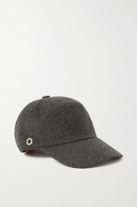Loro Piana Cashmere Baseball Cap - Gray