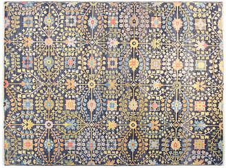 F.J. Kashanian 10'x14' James Rug - Navy Blue