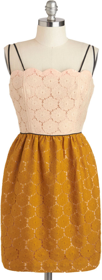 Corey Lynn Calter Eat, Drink, and Be Marigold Dress
