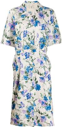 Valentino Pre-Owned 1980's floral print dress