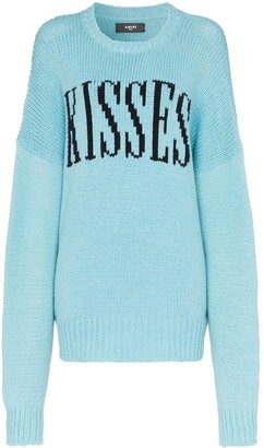Amiri Kisses oversized jumper