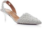 Proenza Schouler Perch Slingback Kitten Heels