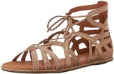 Gentle Souls Women's Break My Heart 3 Flat Sandal