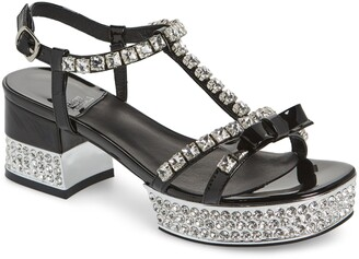 Jeffrey Campbell Riche Crystal Embellished Sandal