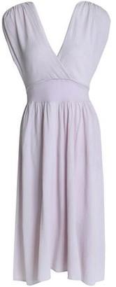 Kain Label Athena Gathered Crinkled-gauze Dress