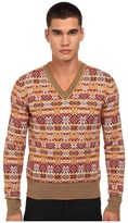 Vivienne Westwood Fair Isle V-Neck Pullover