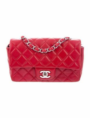 Chanel Classic New Mini Flap Bag Red