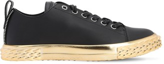 Giuseppe Zanotti Bladder Leather Sneakers