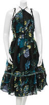 Erdem 2015 Glenna Embroidered Dress w/ Tags