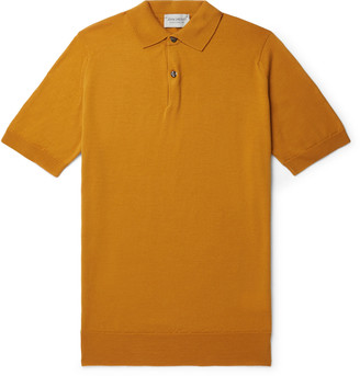 John Smedley Payton Slim-Fit Wool Polo Shirt