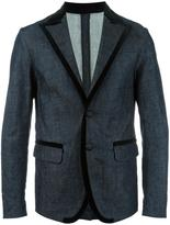 DSQUARED2 denim blazer - men - Cotton/Polyester/Spandex/Elastane/Viscose - 46