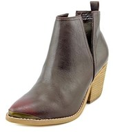 Not Rated 4 My Peeps Women Pointed Toe Synthetic Burgundy Ankle Boot.