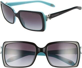 Tiffany & Co. 55mm Square Sunglasses