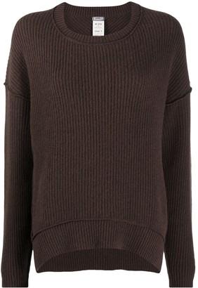 Kristensen Du Nord Exposed-Seam Crew Neck Sweater