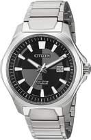 Citizen Men's ' Quartz Titanium Casual Watch, Color:d (Model: AW1540-88E)