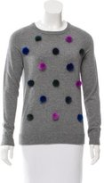 Autumn Cashmere Furry Pom Pom Sweater