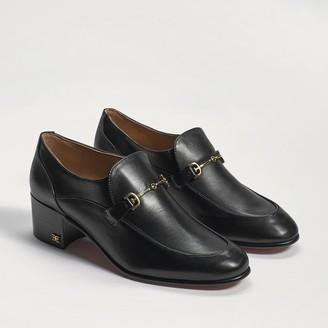 Celena Block Heel Loafer