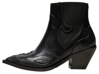 Selected Sweets Cowboy Boots Black - 38