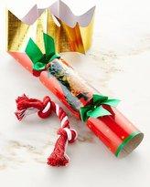Caspari Dog Toy Christmas Cracker, Each