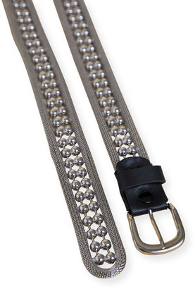 LES COYOTES DE PARIS Lola Horsehoe-Buckle Metal Belt