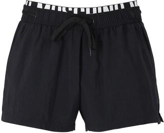 Moschino Logo Nylon Swim Shorts