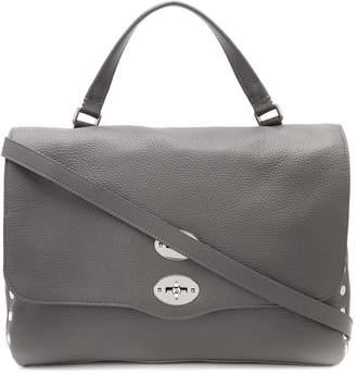 Zanellato Montebianco pebbled satchel bag
