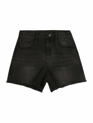 Name It Girl's Nkfrandi Mom Dnmcece 7303 Hw Shorts Noos