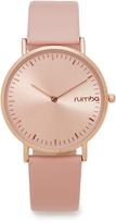 RumbaTime SoHo Leather Blush Watch