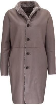 Giorgio Brato Reversible Leather Coat