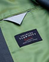 Slim Fit Blue And Sky Semi-plain Jacket