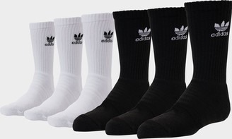 adidas Kids' 6-Pack Crew Socks
