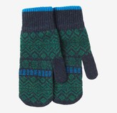Toast Fair Isle Lambswool Mittens