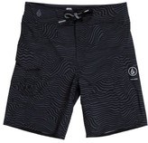Volcom Boy's Magnetic Stone Board Shorts