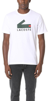 Lacoste Graphic Jersey with Printed Croc Logo