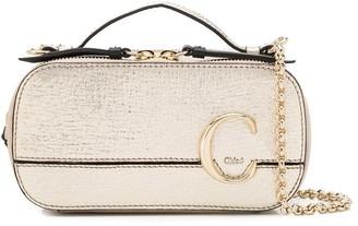 Chloé mini C vanity cross-body bag