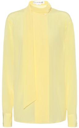 Victoria Beckham Silk crepe de chine blouse