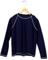 Oscar de la Renta Boys' Long Sleeve Crew Neck Shirt