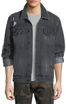 Ovadia & Sons Distressed Denim Jacket