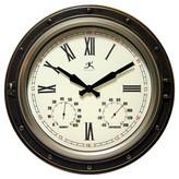 Infinity Instruments Forecaster Decorative Clock - Bronze