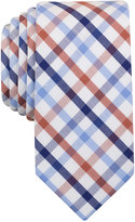 Bar III Men's Rust Multi-Color Check Slim Tie, Only at Macy's