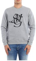 MSGM Crew Neck Sweatshirt New Logo