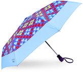 Moschino Colored Hearts Auto Open & Close Umbrella