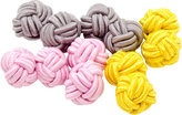 Cufflinks Inc. Men's Pastel Silk Knot Cufflinks