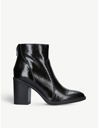 Kurt Geiger Sly patent leather ankle boots, Size: EUR 36 / 3 UK WOMEN