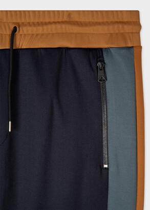 Paul Smith Men's Cotton-Blend Colour-Block Track Pants