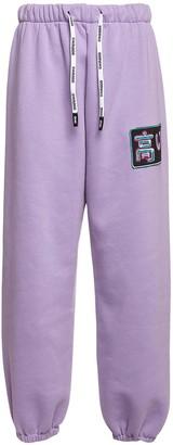 Natasha Zinko Logo Patch Sweatpants