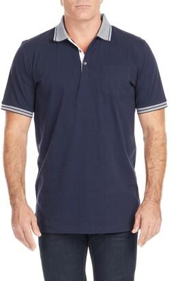 Johnny Bigg Pedro Tipped Polo Shirt