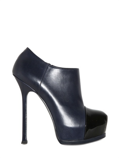 Yves Saint Laurent 140mm Tribtoo Leather Boots