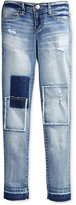 Jessica Simpson Patchwork Skinny Jeans , Big Girls (7-16)